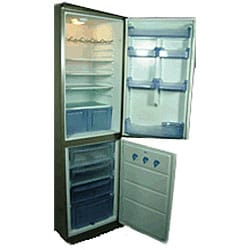 Conserv Tall Narrow White Refrigerator Freezer