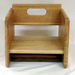Natural Wood Booster Seat