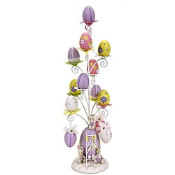 Small Lavender Easter Egg Tree