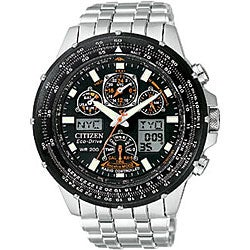 Citizen Eco-drive Skyhawk A-T Men's Steel Watch