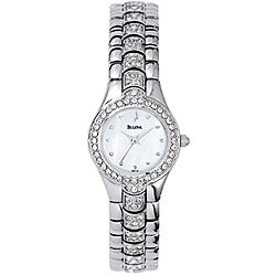 Bulova Women's Steel Crystal Watch