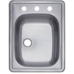 Stainless-Steel Rectangular Bar Sink