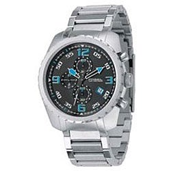 Fossil Men's Black Dial Chronograph Watch