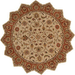 Hand-tufted Camelot Wool Rug (8&#39; Star)