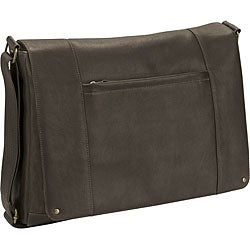 Solo 16-inch Leather Laptop Messenger Bag