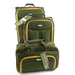 Jeep 3-piece Rolling Luggage Set