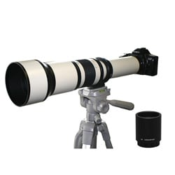 Rokinon 650-2600mm Pentax Telephoto Zoom Lens