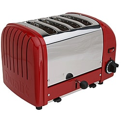 Dualit Classic Red 4-Slice Toaster
