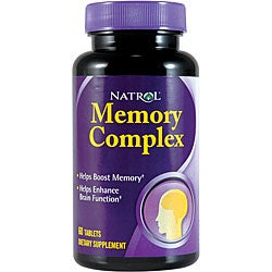 Natrol Memory Complex Pills (Pack of 3 60-count Bottles)