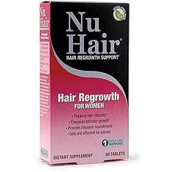 Natrol Nu Hair Women's Hair Regrowth Tablets (Pack of 2)