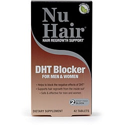 Natrol Nu Hair DHT Blocker Blister Tablets (Pack of 2 42-count Bottles)
