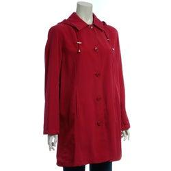 Regent women 39 s petite packable short travel coat overstock shopping top rated regent outerwear for Travel pants petite