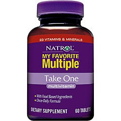 Natrol My Favorite Multiple Take One Multivitamin (180-count)