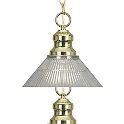 Simplicity Brushed Brass Pendant Light