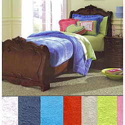 Fleece Comforter Set