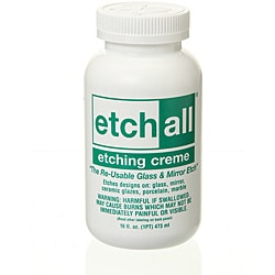 Etchall 16-ounce Glass Etching Cream