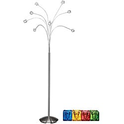 Overstock Floor Lamps on Brushed Nickel Floor Lamp   Overstock Com