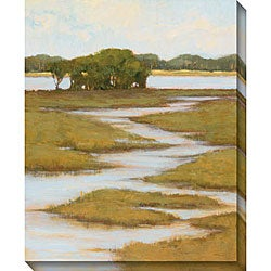 Gallery Direct Kim Coulter 'Silver Stream I' Oversized Canvas Art