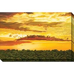 Jon Eric Narum 'Dragon Cloud' Oversized Canvas Art