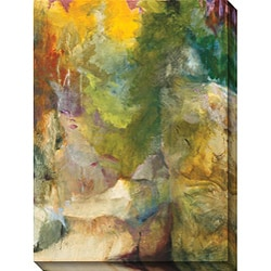 Sylvia Angeli 'Mountain High I' Giclee Canvas Art