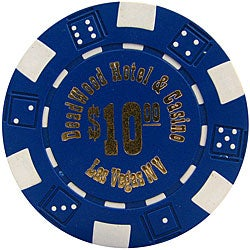 Deadwood Casino Low-dollar Poker Chips (Set of 1,000 Chips)