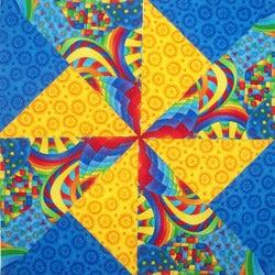 Pattern: Pinwheel Block - Quilting Patterns, Easy Quilts