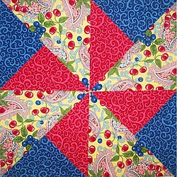 Pinwheel Quilt - Block Assembly - Bobrow Family Network