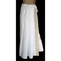 Cotton &#39;Thai Sophistication&#39; Wraparound Skirt (Thailand)