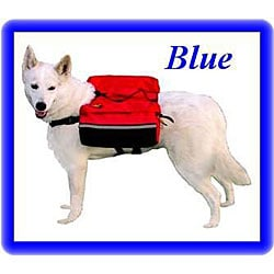 Outward Hound Quick-release Blue Dog Backpack