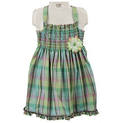 Good Lad Toddler Girl's Plaid Sundress