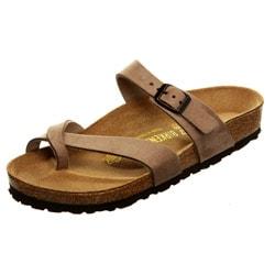 Birkenstock Women's 'Cozumel' Silky Suede Slip-on Sandals FINAL SALE