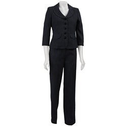 Nine West Women's 2-piece Denim Pant Suit