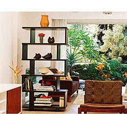 Staggered-shelf Bookcase