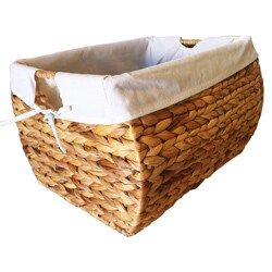Seagrass Storage Basket with Liner