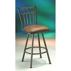 Bostonian Autumn Rust Counter Stool