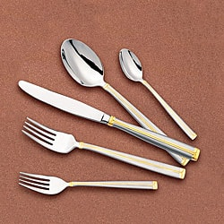 Lorenzo 'Bella-GD' 72-piece Flatware Set
