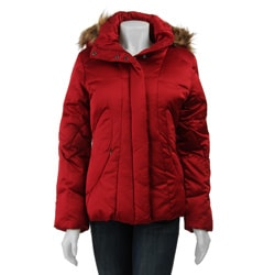 Calvin Klein Women's Hooded Short Down Jacket
