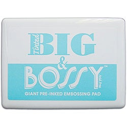 Ranger Tinted 'Big and Bossy' Giant Pre-inked Embossing Pad