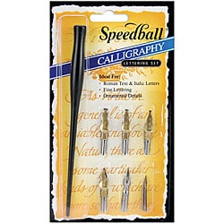 Speedball Calligraphy 7-piece Lettering Pen Set