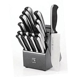 J.A. Henckels Everedge Plus 17-piece Knife Block Set