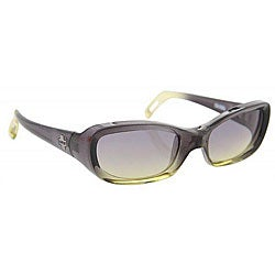 Spy Cosmik Women&#39;s Black/ Green Fade Sunglasses