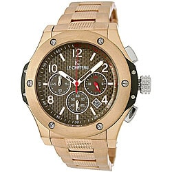 Le Chateau Men's Sports Dinamica Rose Goldtone Watch.