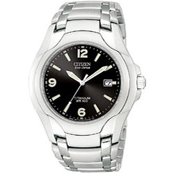 Quick View Citizen Eco-Drive Men's Titanium Bracelet Watch Today: $150.00