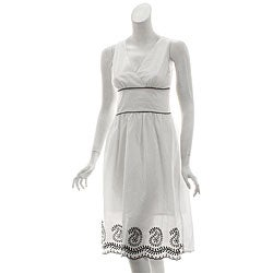 Mint Green Brand Women's Embroidered Sundress