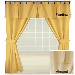 Double swag shower curtain | Shop double swag shower curtain sales