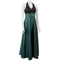 Women's Lace Halter Dress