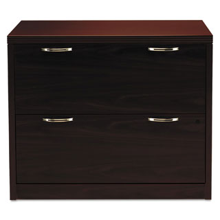 HON Valido 11500 Series Mahogany 36 x 20 x 29 1/2 2-drawer Lateral File