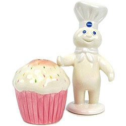 Pillsbury Doughboy Salt and Pepper Shakers