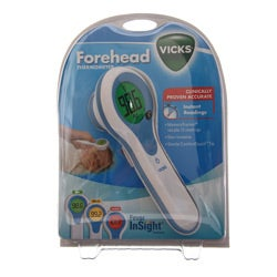 how to use vicks forehead thermometer