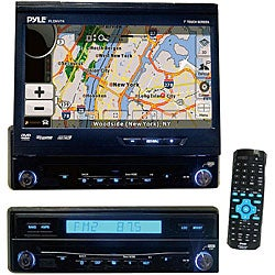 Pyle 7-inch Touchscreen DVD/ USB Player with GPS